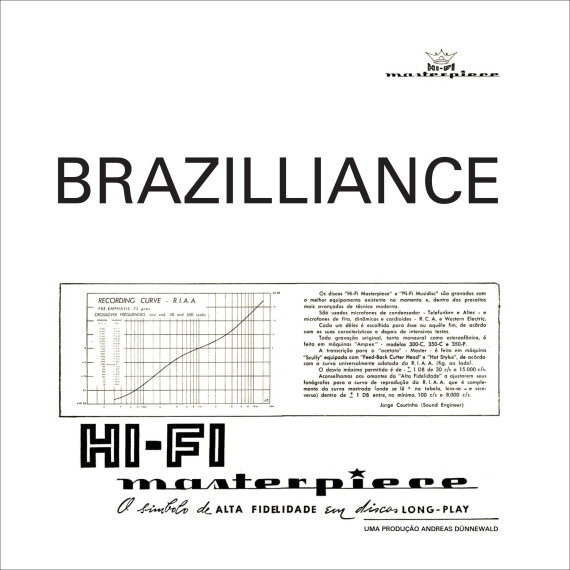 Brazilliance - Cover - white - black border