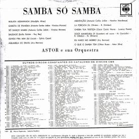 Astor Silva — Samba... Só Samba (b)