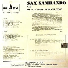 Os Saxsambistas Brasileiros — Sax Sambando (2b)