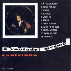 Raul de Souza, Sambalanço Trio — À Vontade Mesmo (b)