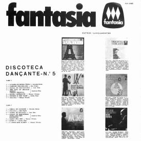 Various - Dançante No. 5 (1965) c