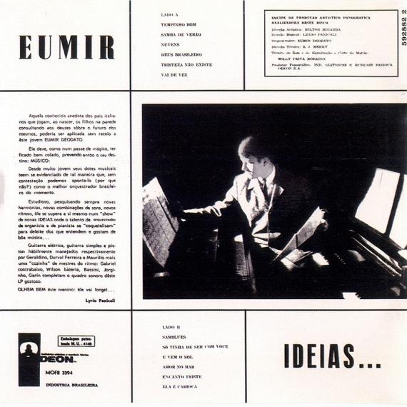 Eumir Deodato — Idéias (b)
