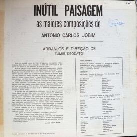Eumir Deodato — Inútil Paisagem – As Maiores Composições de Antônio Carlos Jobim (d) inside right