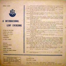 Leny Eversong — A Internacional Leny Eversong (b)