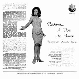 Rosana Tolédo — A Voz do Amor (b)