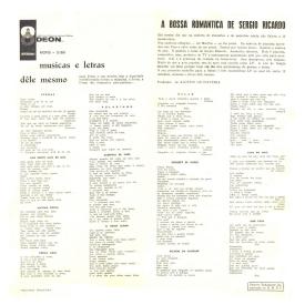 Sérgio Ricardo — A Bossa Romântica de Sérgio Ricardo (b)