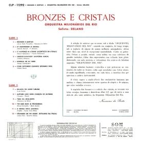Orquestra Milionários del Rio, Delano — Bronzes & Cristais (b)
