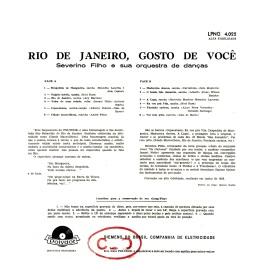 Severino Filho — Rio de Janeiro, Gosto de Você (b)