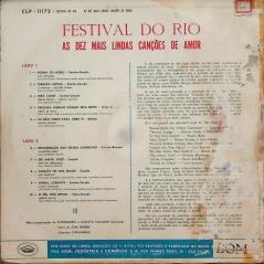 Various - Festival do Rio – As Dez Mais Lindas Canções de Amor (1960) b