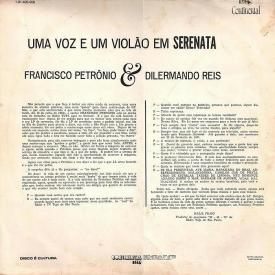 Francisco Petrônio, Dilermando Reis — Uma Voz e um Violão em Serenata (b)