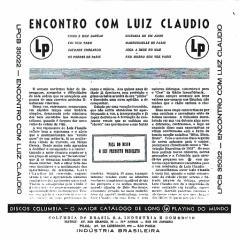 Luiz Cláudio — Encontro com Luiz Cláudio (b)