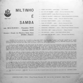 Miltinho — Miltinho é Samba (b)