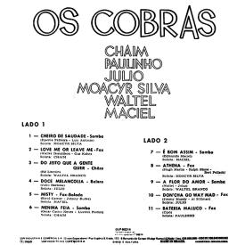 Os Cobras — Os Cobras (b)