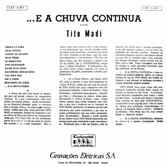 Tito Madi — E a Chuva Continua (b)