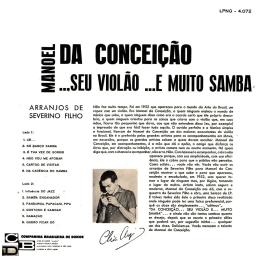 Manoel da Conceição — Manoel da Conceição Seu Violão e Muito Samba (b)