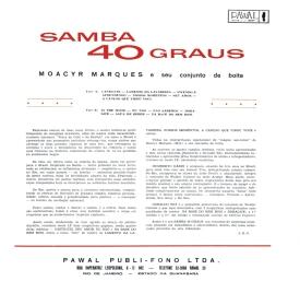 Moacyr Marques 'Bijú' — Samba 40 Graus (b)