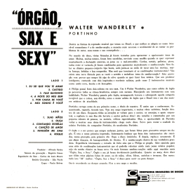 Walter Wanderley, Portinho — Órgão Sax Sexy (b)