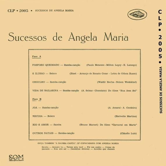Ângela Maria — Sucessos de Ângela Maria (b)