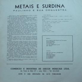 Paulinho — Metais e Surdina (b)