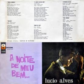 Lúcio Alves — A Noite de Meu Bem (a)