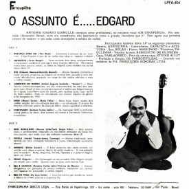 Edgard Gianullo — O Assunto é... Edgard (b)