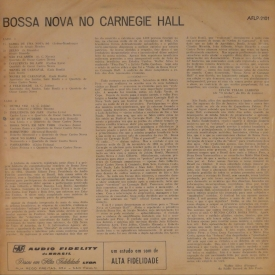 Various — Bossa Nova at Carnegie Hall (b)