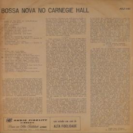 Various — Bossa Nova at Carnegie Hall (b)