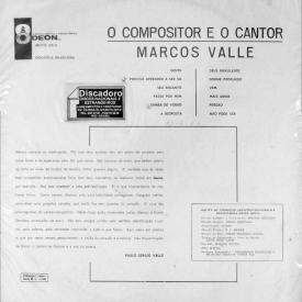 Marcos Valle — O Compositor e o Cantor (b1)