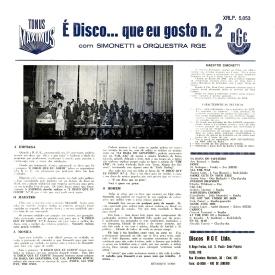 Henrique Simonetti — É Disco... Que Eu Gosto No. 2 (b)