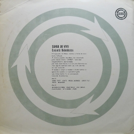 Conjunto Balambossa - Samba ao Vivo (c1961) b