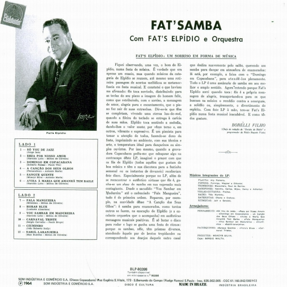 Fats Elpídio — Fat's Samba (b)