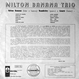 Milton Banana — Milton Banana Trio (1b)