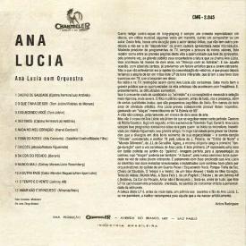 Ana Lucia - Ana Lucia (1959) b