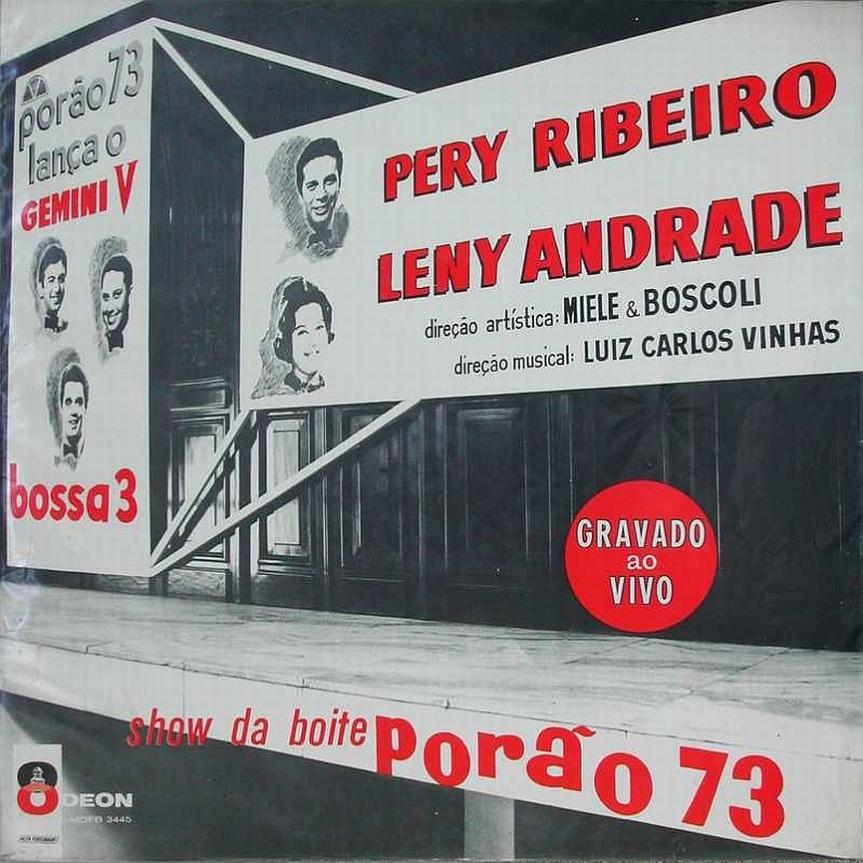 Leny Andrade, Pery Ribeirio, Bossa Três — Gemini V – Show na Boite Porão 73 (a)