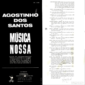 Agostinho dos Santos - Musica Nossa (1967) b