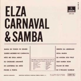 Elza Soares - Elza, Carnaval & Samba (1969) b