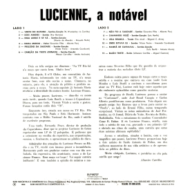 Lucienne Franco — A Notável (b)