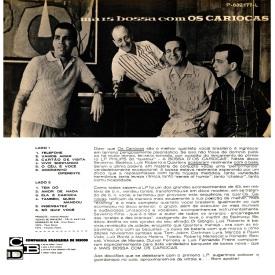 Os Cariocas - Os Cariocas (1963) b
