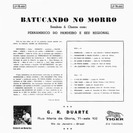 Pernambuco do Pandeiro - Batucando no Morro (1959) b