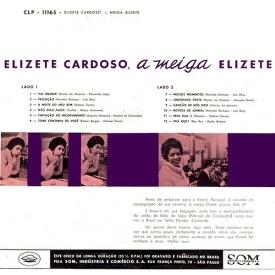Elizeth Cardoso - A Meiga Elizete (1960) b