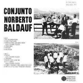 Norberto Baldauf - Ele Gravou Parole Até Segunda-Feira (1968) b