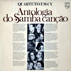 Quarteto em Cy - Antologia do Samba Canção (1975) a