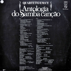 Quarteto em Cy - Antologia do Samba Canção (1975) b