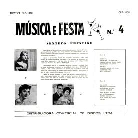 Sexteto Prestige - Música e Festa No. 4 (1959) b