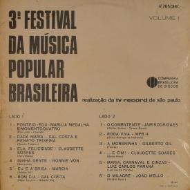 Various - III Festival de Música Popular Brasileira (1968) b