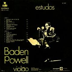 Baden Powell - album Estudos (1971) b