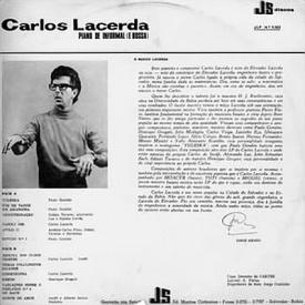 Carlos Lacerda - Piano de Informal (e Bossa) (1967) b