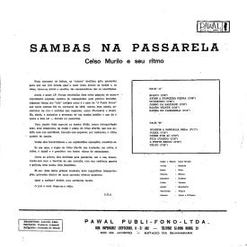Celso Murilo - Sambas na Passarela (1961) b