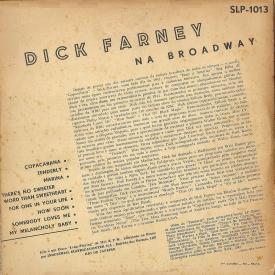 Dick Farney - Dick Farney na Broadway (1954) b
