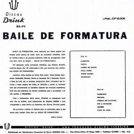 Djalma Ferreira - Baile de Formatura (1962) b
